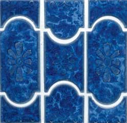 lake blue pool tile